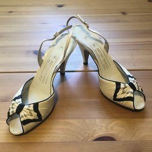 Authentic Vintage BRUNO MAGLI Strappy Heels Sz 8
